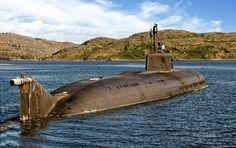 Oscar II Class Nuclear Cruise Missile Submarine
