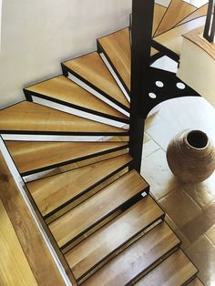 inspiring loft stair design ideas for space saving 45 Metal Stairs, Staircase Railings, Attic Stairs, Basement Stairs, Modern Staircase, House Stairs, Grand Staircase, Spiral Staircase, Staircase Design
