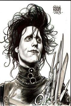 Edward Scissorshand by Glenn Fabry