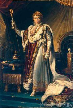 Baron François Pascal Simon Gérard - Napoleon I. im Krönungsornat