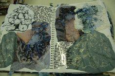 Bethan Prentice DHSFG Textiles Sketchbook Layout, Textiles Sketchbook, Gcse Art Sketchbook, Fashion Sketchbook, Sketchbook Ideas, A Level Textiles, Experimental, Fashion Courses, Weaving Textiles