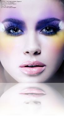 Stunning beauty shot my our amazing beauty editor, celeb makeup artist Francesca Tolot