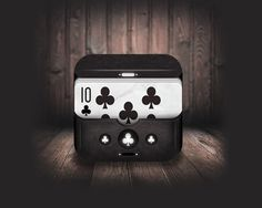 Poker Club iOS Icon   #Poker #ios #icon #cool