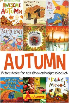 Fall Picture Books for Preschoolers As we near the end of summer, fill your book basket with some of our favorite fall books for preschoolers. It's filled with both fiction and nonfiction selections. Autumn Activities For Kids, Fall Preschool, Book Activities, Preschool Seasons, September Preschool, September Crafts, Preschool Ideas, Best Toddler Books, Best Children Books