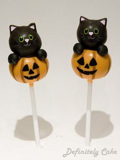 Halloween Cake Pops - For all your cake decorating supplies, please visit craftcompany.co.uk