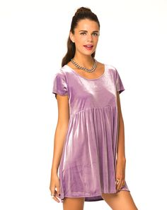 Motel Baby Doll Dress in Lilac, TopShop, ASOS, House of Fraser, Nasty gal