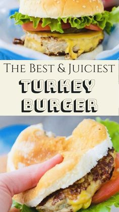 18 Delicious and Healthy Turkey Burger Recipes - My Best Home Life Spinach Turkey Burgers, Homemade Turkey Burgers, Turkey Burger Sliders, Ground Turkey Burgers, Best Turkey Burgers, Grilled Turkey Burgers, Greek Turkey Burgers, Turkey Burger Recipes, Sweet Potato Buns