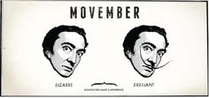Movember is here! Get Involved and help raise awareness for men's health #movember