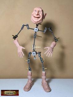 M00631 MOREZMORE Get a Grip Armature Handle Sculpting Tool OOAK Doll T20