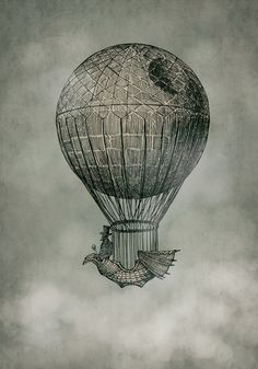 I love Star Wars I love Hot Air Balloons and this is perfect this would make a really cool tattoo.