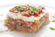 Salmon brûlée #salmon #brûlée #lapulperia #yummy #delicious #restaurantrow #nyc #eat #food #lunch #dinner