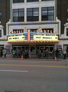 The Castle Theatre - Downtown Bloomington - 209 E Washington St