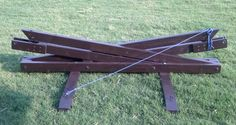 Woodworking portable hammock stand plans PDF Free Download