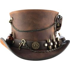 Steampunk Hats, Steampunk Top Hats, and Leather Steampunk Hats from Dark Knight Armoury