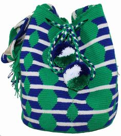 Each PUTCHIPUU Bag is handmade by the women of the WAYUU Tribe located in the northern peninsula of Colombia in a rural area…
