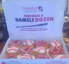 Krispy Kreme partners with Phillies pitcher Cole Hamels on a special donut deal all March long.
