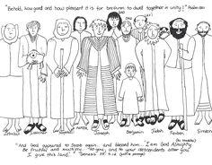 Joseph's Brothers - worksheet