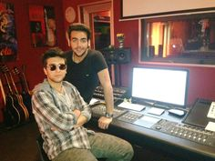 Visiting Igny in his hometown... #greatTime #Recording #Studio