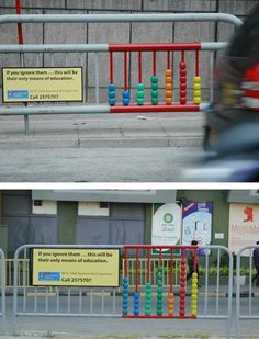 What you think about this street marketing? http://www.arcreactions.com/sparkle-shine/
