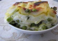 lasagne con piselli
