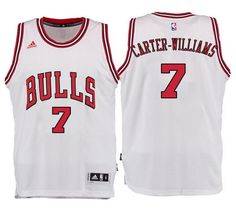 NBA Men's Chicago Bulls #7 Michael Carter-Williams Jersey White