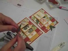 For All Things - Fall Waterfall Card Stampin' UP! - YouTube