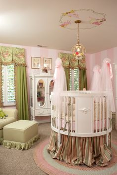 Luxury Interior Design Plays Dress Up in a Nursery
