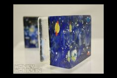 cube stories - is there anything out there-fused glass
