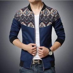 Men's Fashion Deluxe Splicing Leisure Brand Big Size Mens Coats Men Bomber Jackets Coats And Jackets