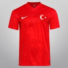 Netshoes - Camisa Nike Seleção Turquia Home 2014 s/nº