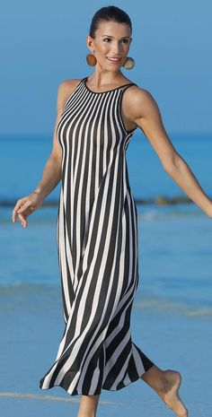 #Sunflair 2015 Black 'n' Gold #Dress 23185 #southbeachswimsuits http://www.noellesnakedtruth.com/