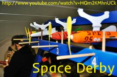 Space Derby is related to rockets race and rocket designing. These rockets are made up of blasa and wood. In this kids learn how to prepare rockets with the help of elders.Get more info visit http://www.youtube.com/watch?v=HQm2KMhnUCk