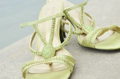 my lime green wedding shoes #stepetebeach @Ashlee Outsen Outsen Outsen Outsen Attebery Photography