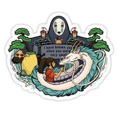 Individual Die Cut Spirit World sticker Item 01043 by khallion unfortunately it was sold out :( Tumblr Stickers, Anime Stickers, Kawaii Stickers, Cool Stickers, Printable Stickers, Laptop Stickers, Preppy Stickers, Snapchat Stickers, Journal Stickers