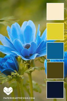 Color Palette: Pantone Color of the Year Classic Blue — Paper Heart Design Scheme Color, Color Schemes Colour Palettes, Blue Color Combinations, Color Trends, Pintura Exterior, Pantone 2020, Blue Colour Palette, Color Balance, Color Swatches