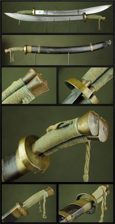 Twin Dao Swords Dated: circa 18th century Culture: Chinese Medium: steel, copper, silk, wood, leather Source: Copyright © 2016 Historical Arms & Armor
