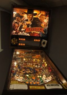 Sega Maverick Pinball Machine | eBayi love pinball machines!