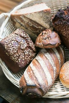 Gorgeous bread made from ancient and whole grains in Paris, at Panifica bakery