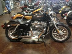 2006 H-D® Sportster® 883 Low V&H SHORTSHOTS, BADLANDER SEAT, DRAG BARS, FWD CONTROLS, VERY NICE BIKE $4,995 Sportster 883, Used Harley Davidson, Car Detailing, Vehicles, Motorcycle Garage, Choppers, Biker, Handle, Chopper