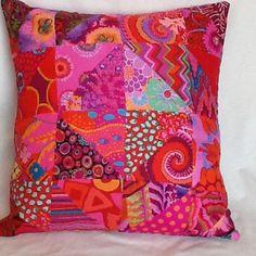 Kaffe Fasset Fabric Patchwork Cushion