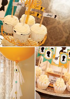 Tricycle Inspired Gender Reveal Party