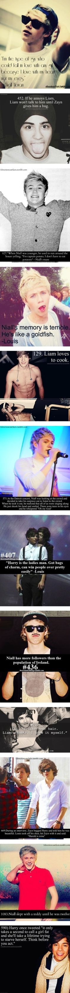 1D facts ;] by lauralovesonedirection ❤ liked on Polyvore>>> awwwww the last one:) my heart just melted!