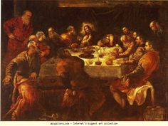 Jacopo Robusti, called Tintoretto. The Last Supper.