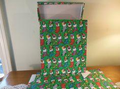 9 Large Christmas Gift Boxes Holiday Gift Boxes by hopefullworld