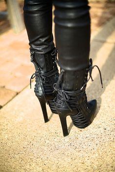 Haider Ackermann lace up boots