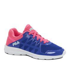 Blue & Pink Finity Running Shoe
