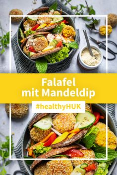 Healthy Meal Prep, Healthy Food, Healthy Recipes, Falafel, Low Carb, Kitchenaid, Dinner Recipes, Food And Drink, Veggies