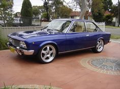 1974 FIAT 124 coupe