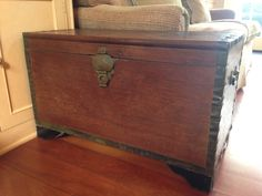 Watercress Springs Estate Sales Weston CT Moving Sale May 9th-10th, 2015 - Hansome Trunk - Copy