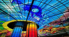 "Narcissus Quagliata, ""Dome of Light"", Formosa Boulevard station, Kaohsiung, Taiwan"